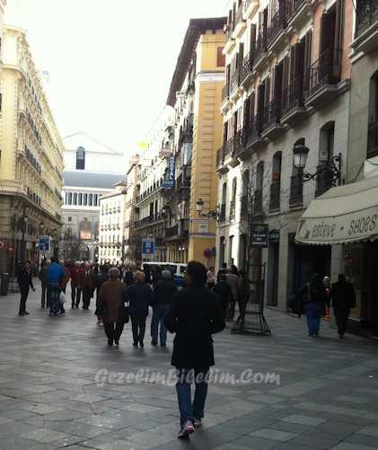 madrid sokakları