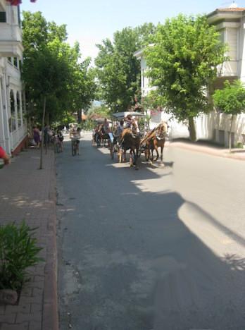 büyükada sokakları