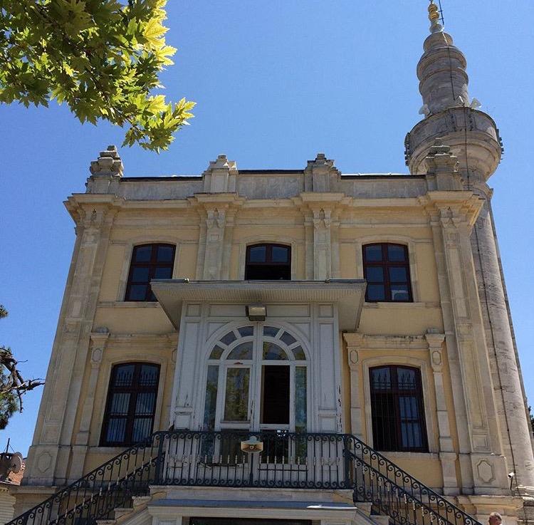 büyükada hamidiye camisi